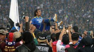 Persib Pesta Gol ke Gawang PSM Pada Laga Perpisahan Hariono