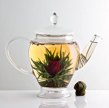 Blooming Tea, Teh dari Bunga Yang Indah
